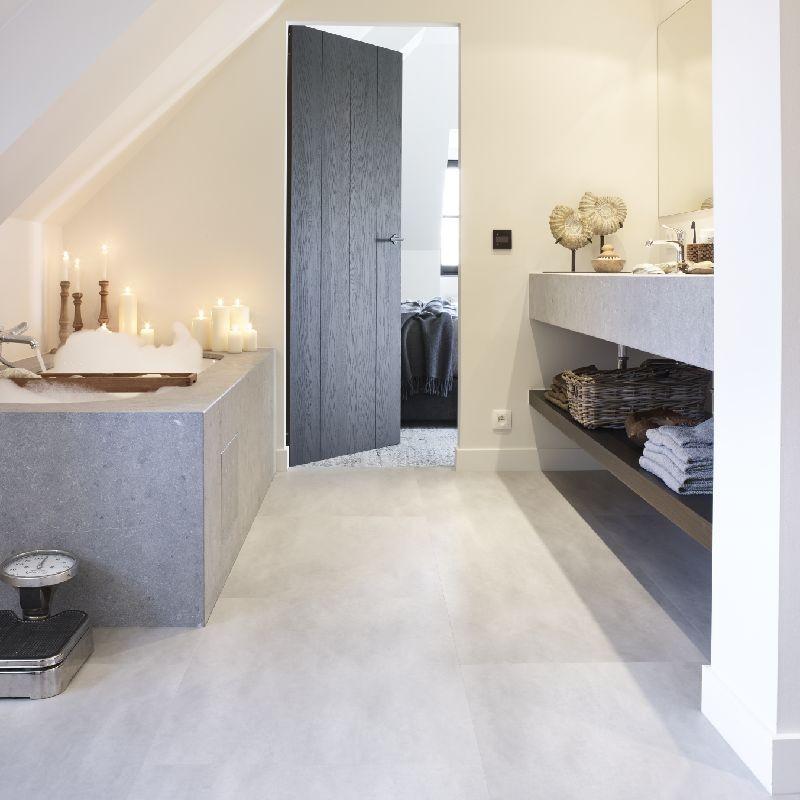 Spirit Pro Click Comfort 55 Tiles Cement Light Grey 60001480