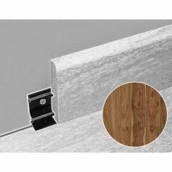 PL5477 Plinthe assortie moderne 80 mm pour parquet