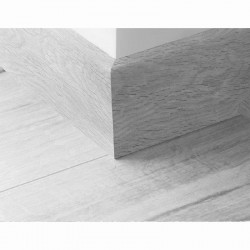 Plinthe assortie 60 mm pour stratifié Smart 8