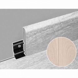 Plinthe assortie moderne 69 mm pour parquet